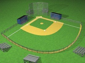 Bear Creek Baseball Field Reservation